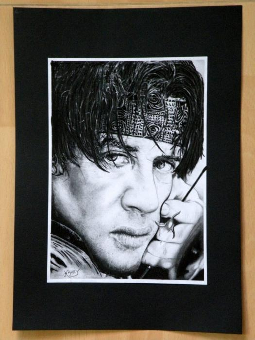 Sylvester Stallone by HARRY